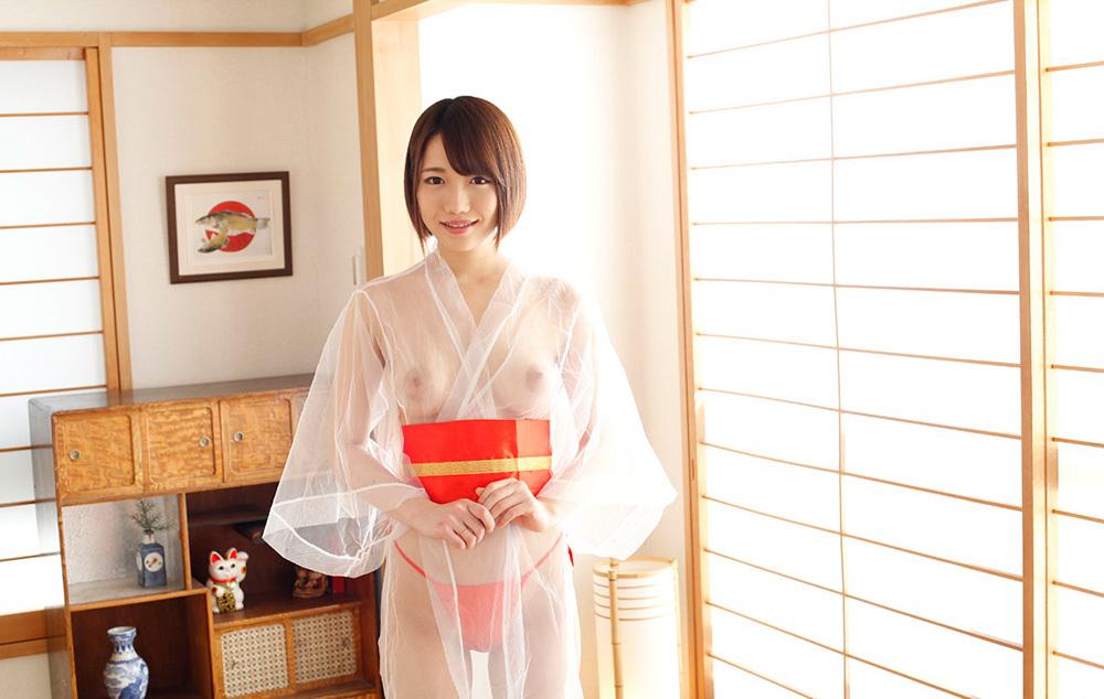 菊川みつ葉 透ける浴衣で極上の大人のおもてなし。
